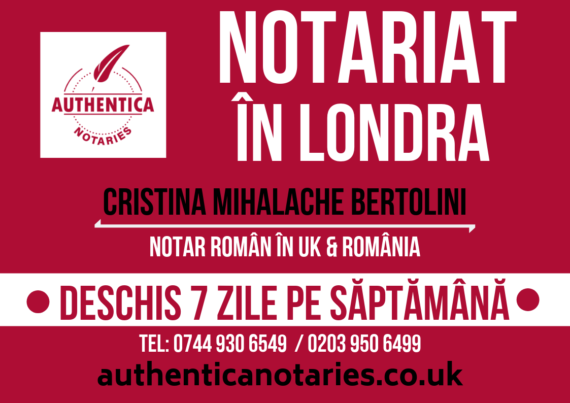 Notar in Londra – Authentica Notaries