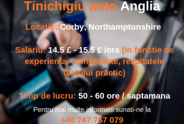 Tinichigiu auto – Corby, UK