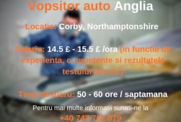 Vopsitor auto – Corby, UK