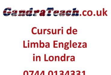 Meditatii la limba engleza in Londra – Barking, Ilford, Stratford