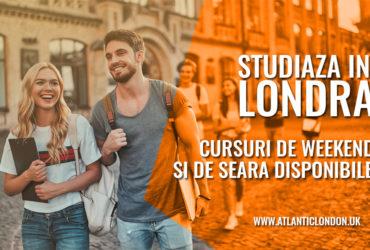 Studiaza in Londra