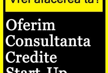 Consultanta obtinere credite Start Up