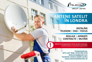 Antene Satelit Londra – Venim ASTAZI !