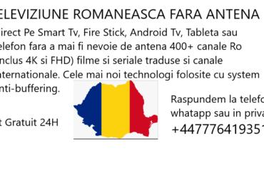 Canale romanesti fara antena parabolica
