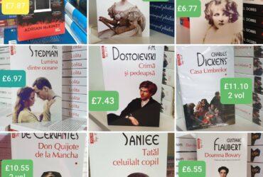 Vindem cărți în limba română