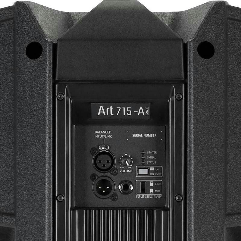 CUMPAR BOXE ACTIVE .RCF Art 715a Mk2 &Mk4