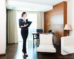 Supervisor in hotel